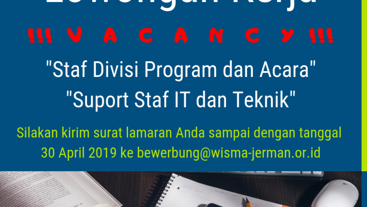 Join With us as Program & Event Division Staff