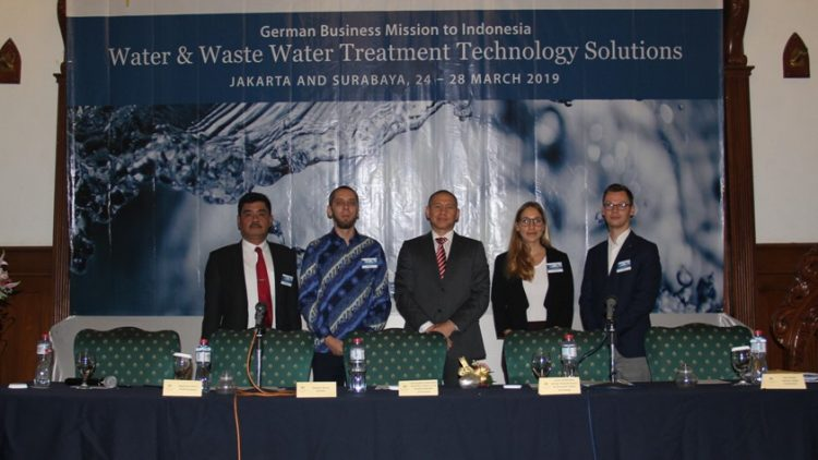 German Water Delegation Visit to Surabaya – March 28, 2019