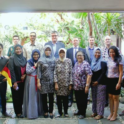 Visit of the German Ambassador to Wisma Jerman