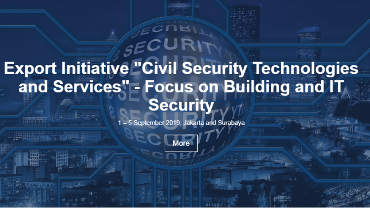 German-Indonesia Business Forum: Civil Security Technologies and Servicesfocusing on Building and IT Security