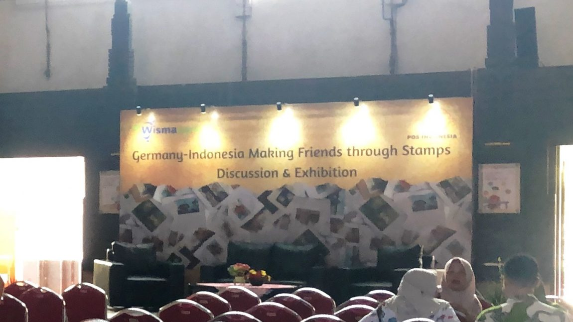 Stamp Exhibition: Germany-Indonesia: Making Friends through Stamps