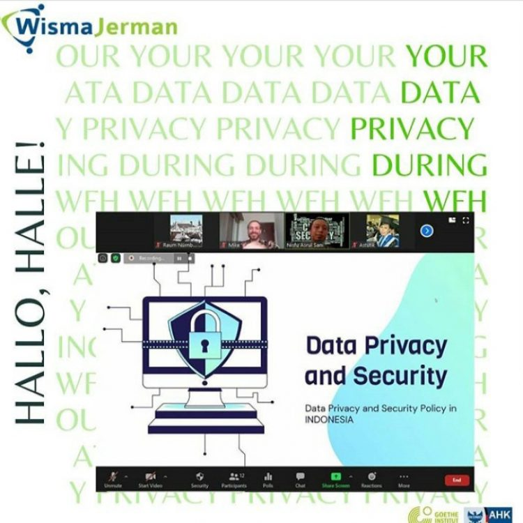 Hallo, Halle! June 2020 Edition: Your Data Privacy During WFH
