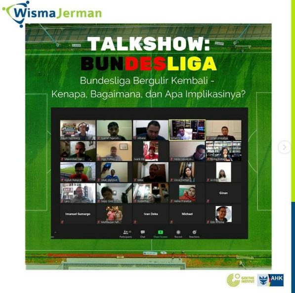 "Talkshow Bundesliga : ""Why, How and What are the Implications of it?"""