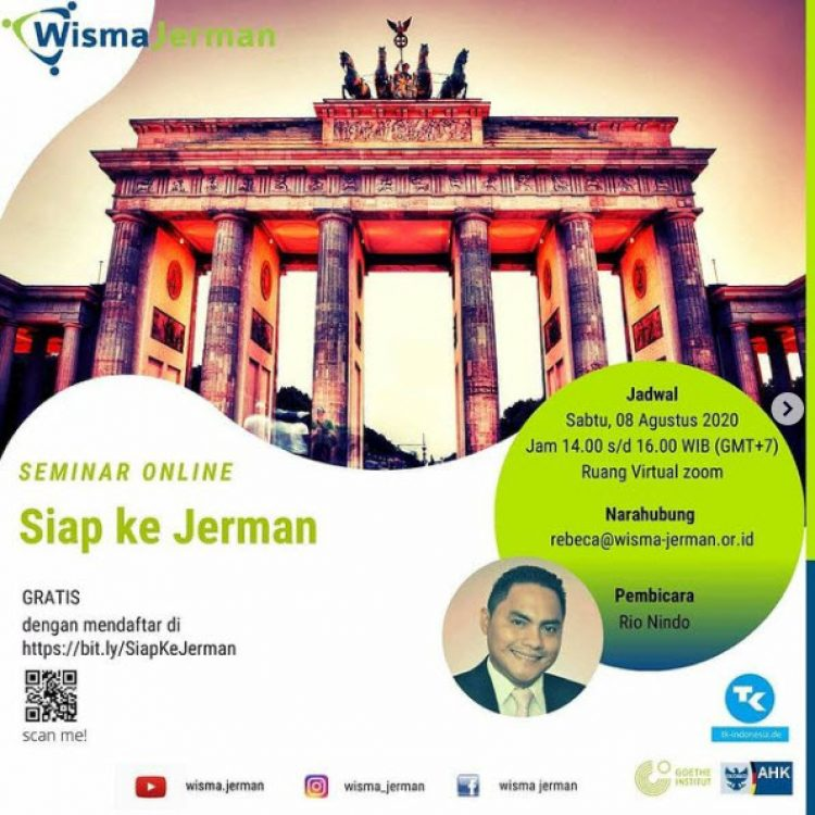 Seminar Online : Ready for Germany