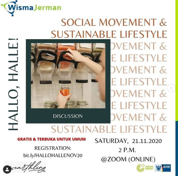 Hallo, Halle! November 2020 Edition: Social Movement & Sustainable Lifestyle