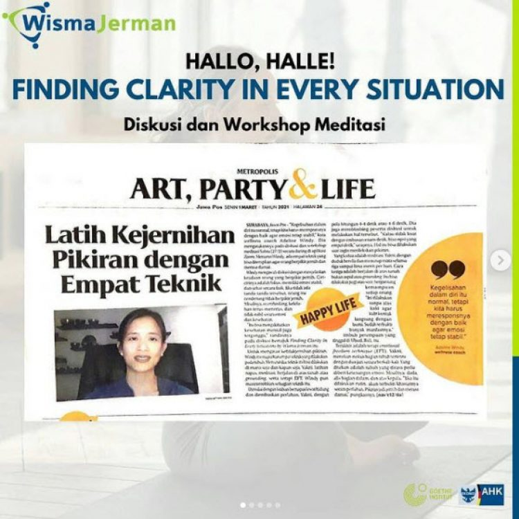 Hallo, Halle! February 2021 Edition: Finding Clarity in Every Situation